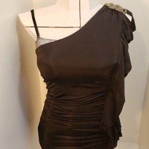 2/$40 Black Mini Dress Sparkle